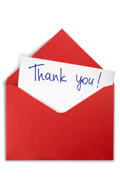 Send Thank-You Cards