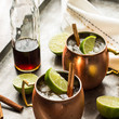 Winter Bourbon Mule