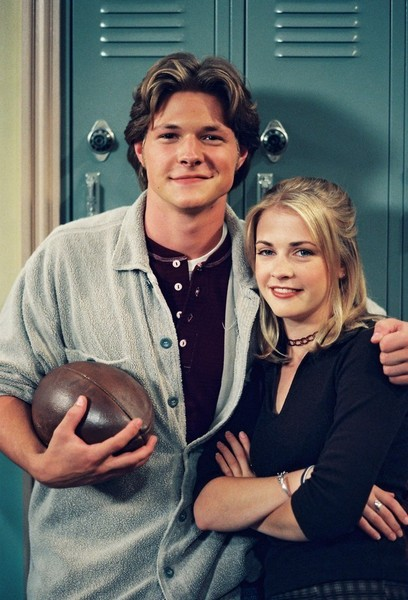Sabrina and Harvey from 'Sabrina the Teenage Witch'