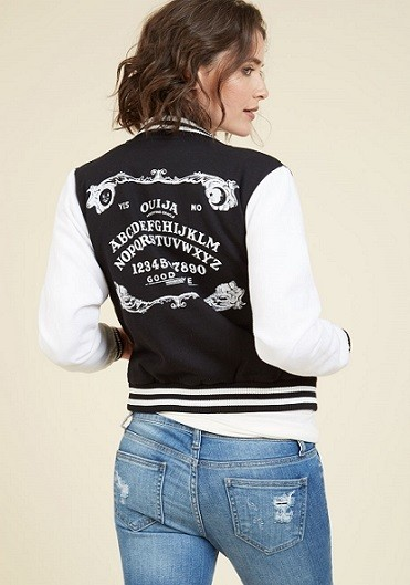 Modcloth Spell It Like It Is Jacket