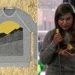 Mindy Kaling's Gray Graphic Sweatshirt on 'The Mindy Project'
