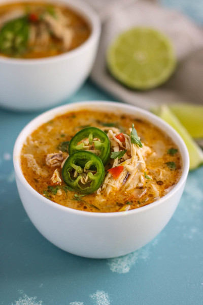 Try Slow Cooker White Chicken Chili