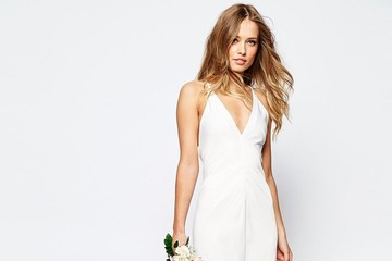 I Tried on an ASOS Wedding Dress So You Don't Have To