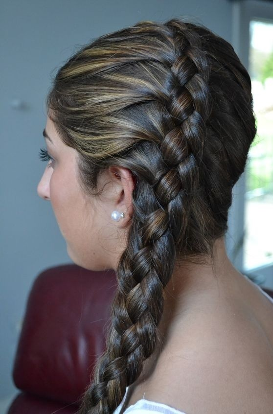 Prom-Ready Dutch Braid!