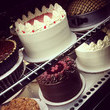 NORTH CAROLINA: Cakes at the Hayes Barton Cafe in Raleigh