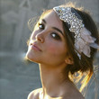 Jeweled Headpiece with Floral Accent