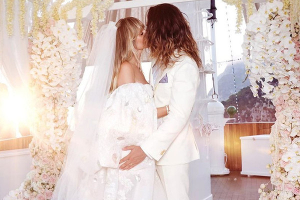 The Most Daring Celebrity Wedding Dresses Of All Time