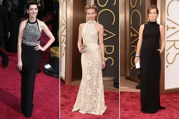 Red Carpet Trend: Halter Gowns