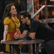Kat Dennings and Nick Zano on '2 Broke Girls'