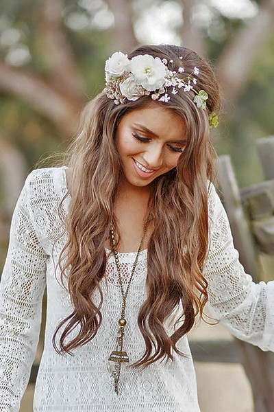 Messy Chic Boho Wedding Hairstyles That Will Make You ...