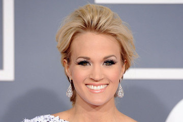 Carrie Underwood Attends the 54th Annual Grammy Awards
