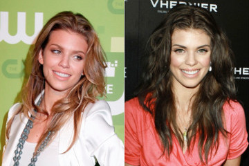 AnnaLynne McCord Goes from Blond to Brunette
