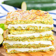 Zucchini Crusted Grilled Cheese