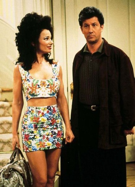 Fran and Maxwell on 'The Nanny'