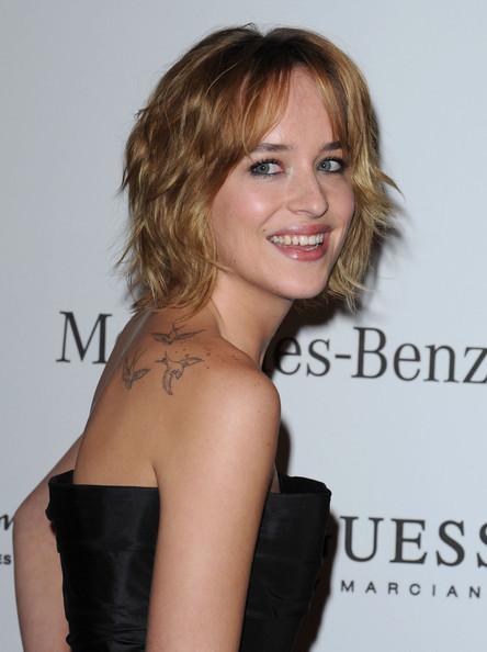 Dakota Johnson Tattoos