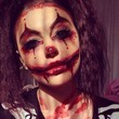 Bloody Clown Makeup