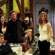 Brad Pitt and Jennifer Aniston on 'Friends'