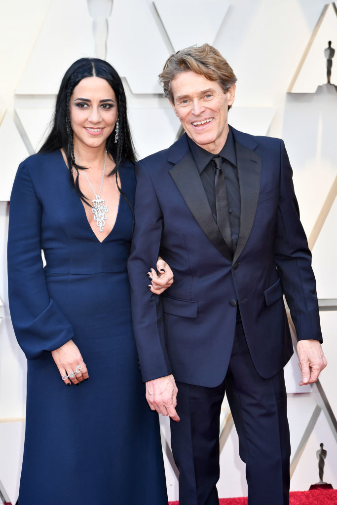 Willem Dafoe in Willem Dafoe & Wife At The Harbor At ...  Willem Dafoe And Wife