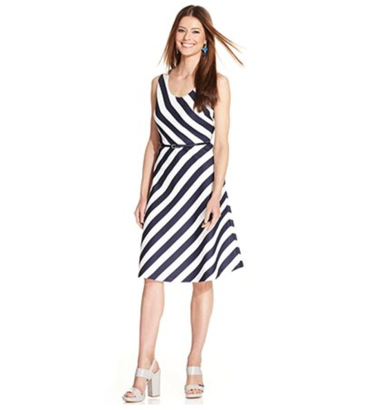 A Summery Striped Dress