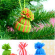 Mini Yarn Hats Ornaments