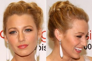 How to Style Blake Lively's French Braided Bun