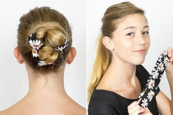 Summer Beauty How To: Scarf-Wrap Bun