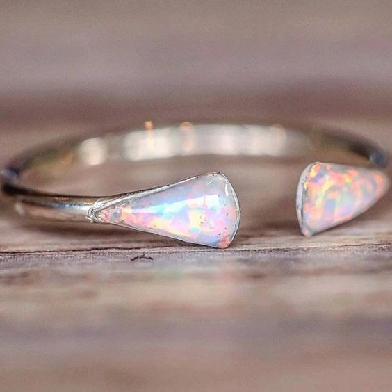 Mermaid Tail Opal Ring