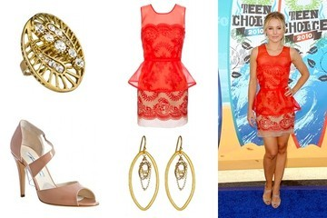 Shop This: Kristen Bell's Red Carpet Look