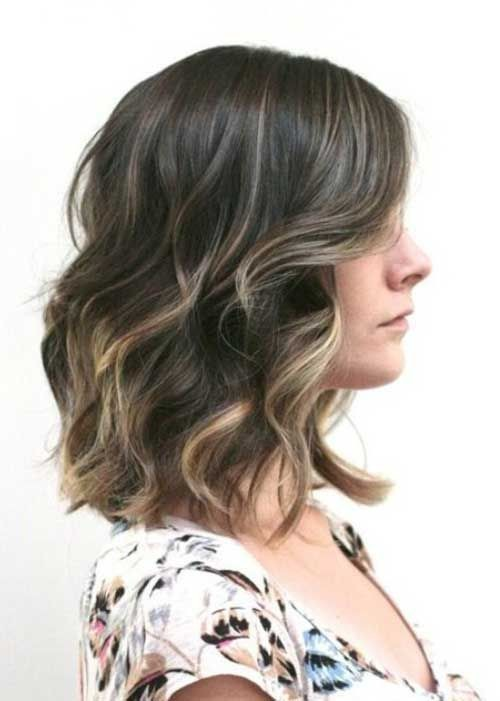 Go For Lobs That Sit On The Collar Bone Long Bob Styling