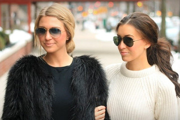 Style the Bump: Somewhere, Lately's Brooke Tredway and Meggan Moorehead