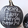 Menu Pumpkin
