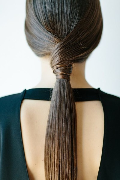 Low Wrap Ponytail