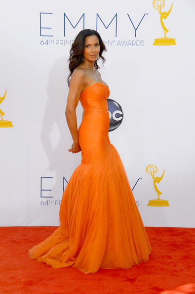 Padma Lakshmi 2012 Emmy Awards