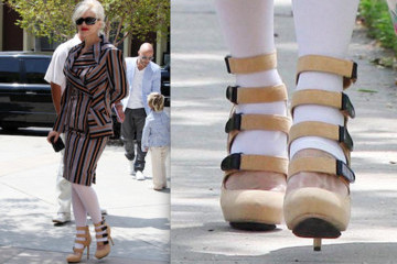 White Tights: A New York Fashion Week Trend