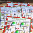 Play Christmas Bingo