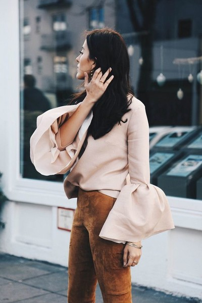 Unique Ways to Wear Bell Sleeves