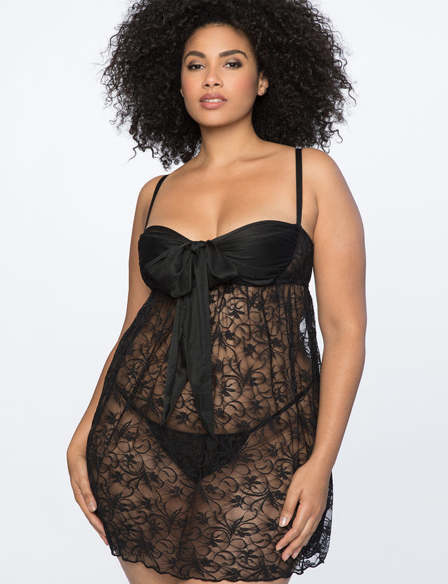 Plus Size Lingerie: The Best Baby Dolls, Teddys, Bras, And ...