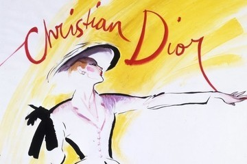 These Vintage Dior Ads Are Too Pretty for Words