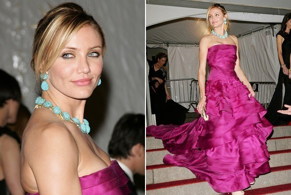 Cameron Diaz in Christian Dior