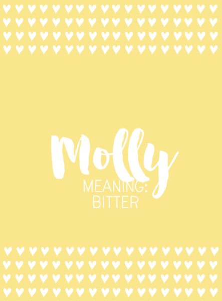 Molly - Baby Names Inspired By 'Harry Potter' - Livingly