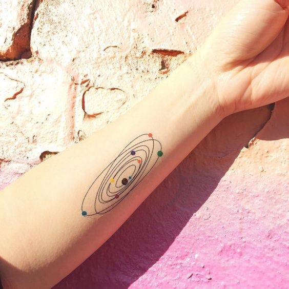 Spinning Dials Galactic Planet Tattoos Every Star Gazer Needs To
