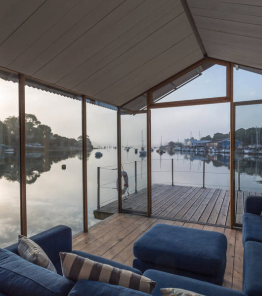 Sleep Right On The Water In A Houseboat
