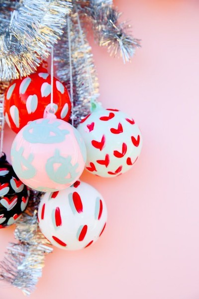 Brightly Colored Ornaments