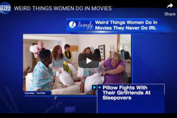 Weird Things Women Do In Movies They Never Do In Real Life