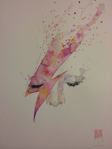 Watercolor Stardust