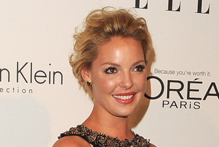 Katherine Heigl's Cute and Curly Crop