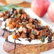Butternut Squash & Apple Bruschetta