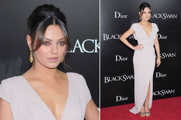 Mila Kunis Reigns in Elie Saab and a French Twist