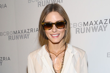 Olivia Palermo's NYFW Essential—Ray-Ban Sunnies!