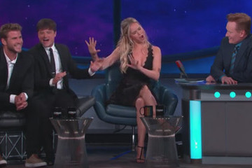 Jennifer Lawrence Sings Cher on 'Conan'